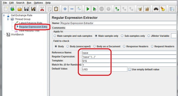 Define Variable from Extractor