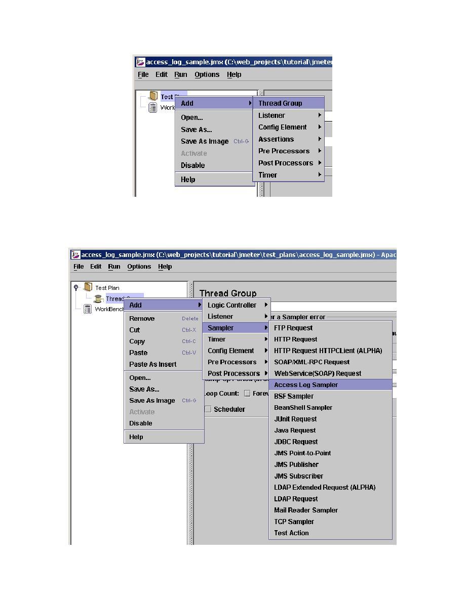 SilkTest Feature Tutorials: JMeter's access log sampler