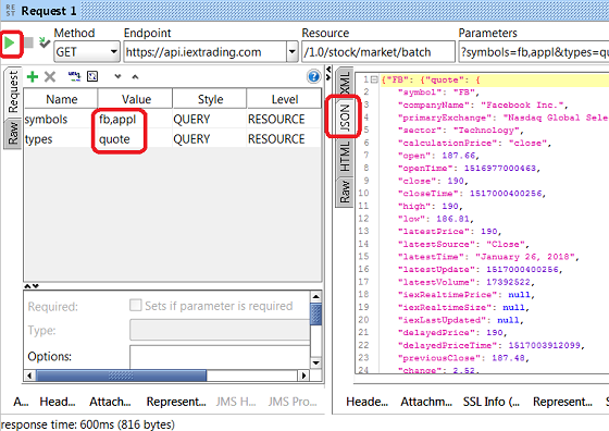 Run REST SoapUI Project Request with Query Parameter